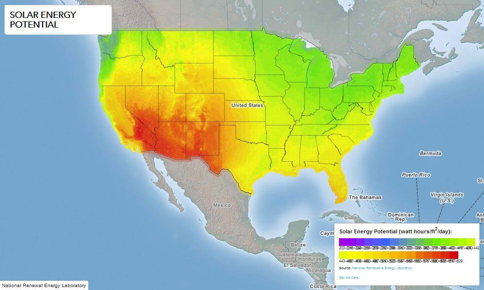 http://www.doe.gov/maps/solar-energy-potential