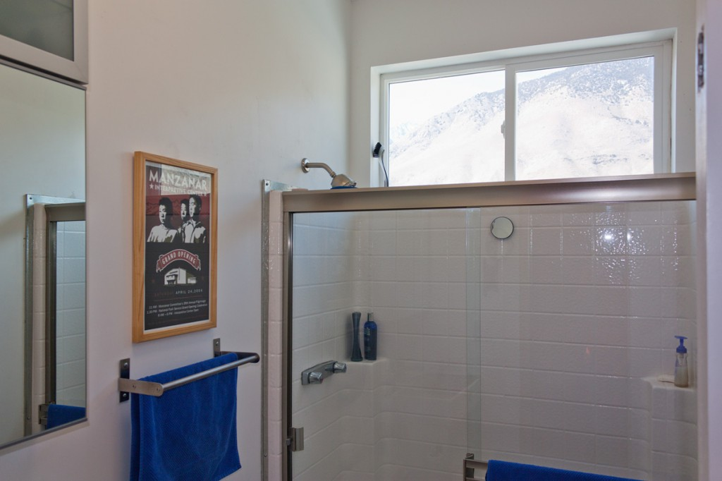 Clear Glass Shower Stall with Sierra View