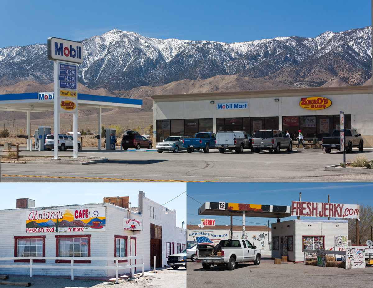 Gas Station-Mini Mart-Sub Shop/Mexican Cafe/Jerky Shop on Olancha